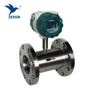 Sensor do medidor de fluxo da turbina da água 4-20mA