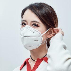 n95 Máscara descartável para evitar poluição atmosférica, evitar poeira e respirar livremente