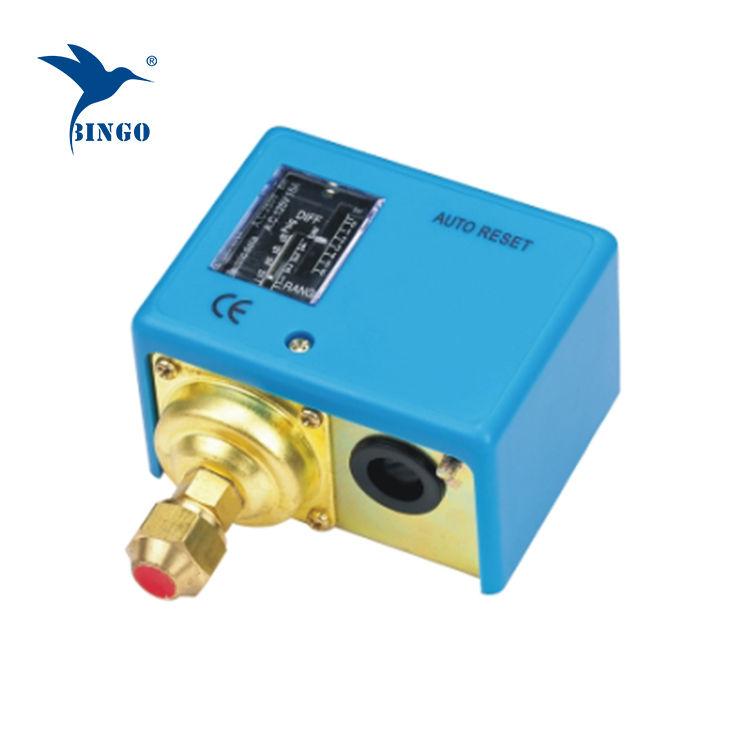Interruptor de pressão ajustável para gás de óleo de água de refrigeração