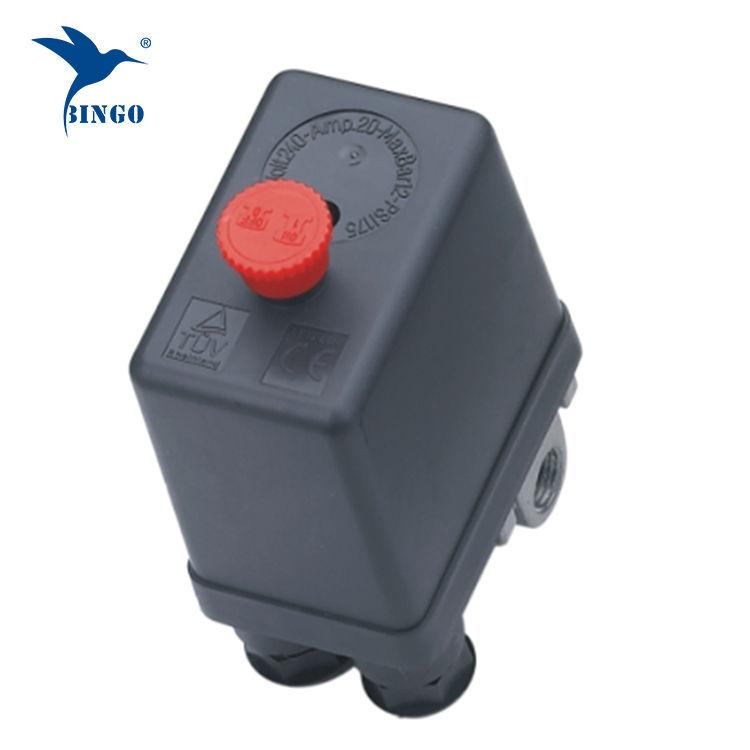 Válvula de controle do interruptor de pressão do compressor de ar