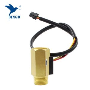 "1/2 ""dn15 taxa de fluxo de água de bronze hall turbina sensor de fluxo medidor interruptor de controle de água taxa de líquido"