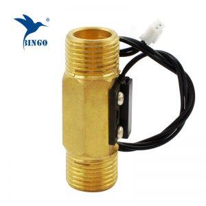 Interruptor de fluxo de água de latão magnético macho DN15