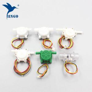 sensor de fluxo de água de bronze de plástico para aquecedor de água, caldeira, máquina de café