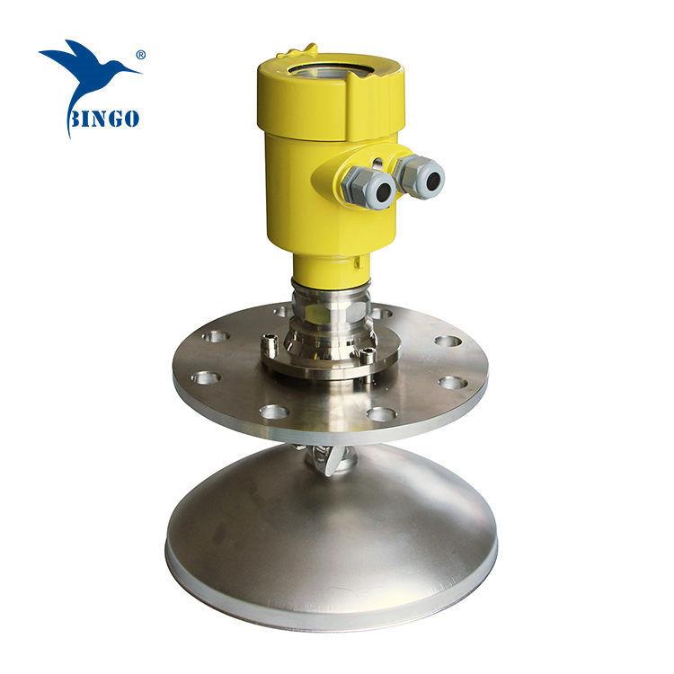 Transmissor de nível de radar de alta freqüência 4-20mA saída para poeira forte