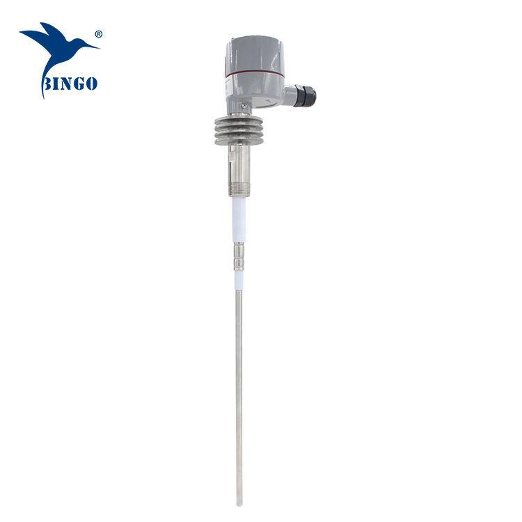 Interruptor de nível de admitância de alta temperatura RF com Al. caixa de junção de liga