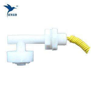 Mini interruptor de flutuador plástico horizontal da forma de L para o tanque de água