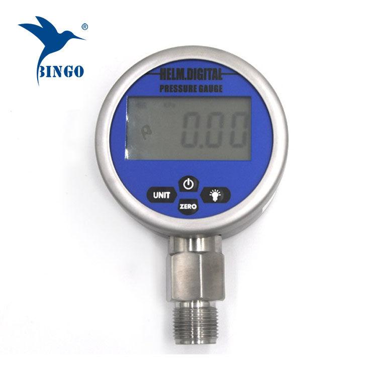 Calibre de pressão inteligente do vácuo digital, LCD, exposição de diodo emissor de luz, calibre 100MPa