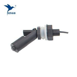 Interruptor elétrico horizontal do flutuador da água do preto da conexão da linha M16 para o distribuidor da água
