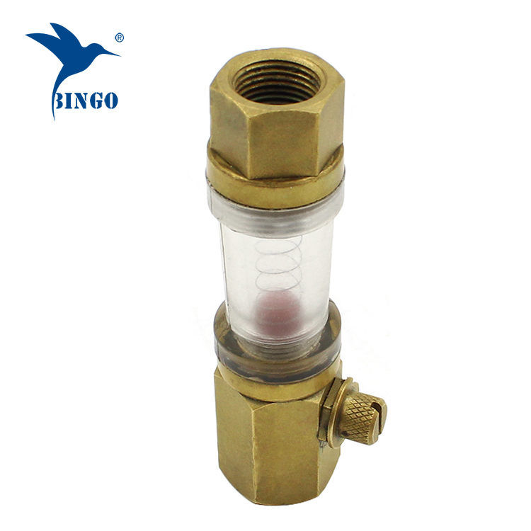 Macho para feminino sensor de fluxo do medidor de água