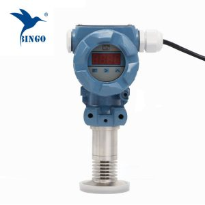 Transmissor de Pressão-Diafragma Sanitário-Flush com display LED