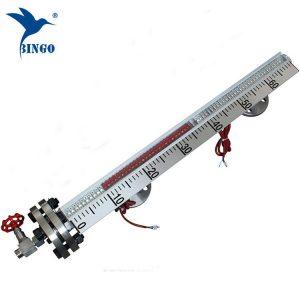 indicador de nível líquido do tanque de óleo da água indicador de nível magnético do flutuador de vidro