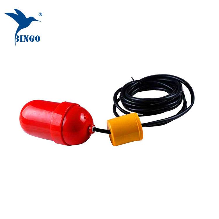 Controlador de nível da bomba de afundamento e interruptor de nível de bóia do cabo do tanque de água