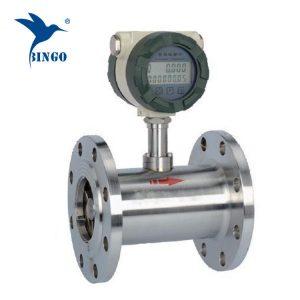 medidor de fluxo de aço inoxidável do consumo de combustível da turbina / medidor de fluxo de combustível diesel