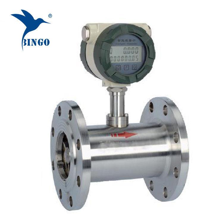 Medidor de vazão de combustível diesel do medidor de fluxo do consumo de combustível da turbina
