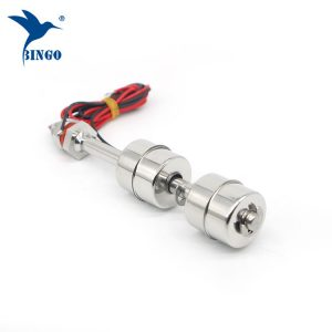aço inoxidável interruptor de flutuador vertical do sensor de nível de água da bola de 500 milímetros 2