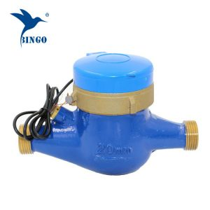 Sensor de pulso de medição de fluxo de água de pulso corpo de bronze de pulso remoto
