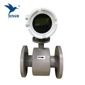 instrumentos de medição de fluxo flangeadas medidor de fluxo de água eletromagnética