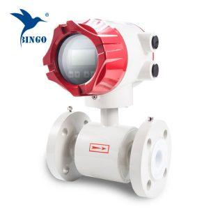 medidor de vazão eletromagnético inteligente e de baixo preço, famosa marca fabricante de medidor de fluxo de água.