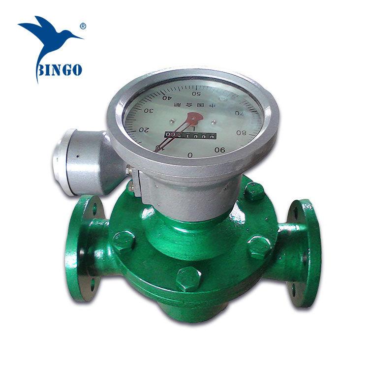 medidor de vazão de combustível diesel medidor de vazão de engrenagem oval