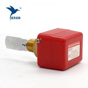 interruptor de fluxo de água de latão aço inoxidável material de conexão da linha de pá